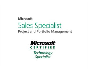 Mictosoft Sales Specialist - Project and Portfolio Management - Microsoft Certfied Technology Specialist